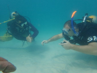 Deep diver course on Koh Tao Island