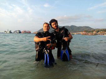 Diving in koh tao and samui islands padi 5 star idc diving center scuba birds all padi - Koh tao dive center ...
