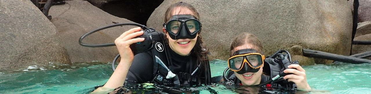 Diving in Koh Tao and Samui islands - PADI 5 Star IDC Diving